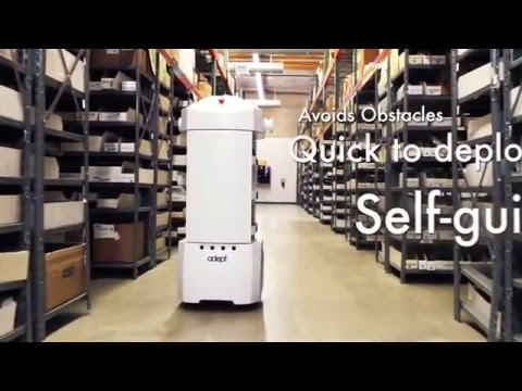 Introducing Omron's Adept Lynx Mobile Robots