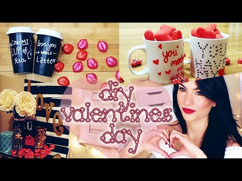 DIY Valentine's Day Gift & Decor Ideas! (Pinterest Inspired!)