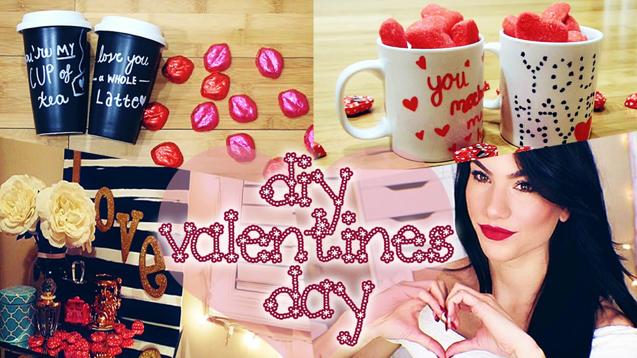 Diy Valentines Day Gift Decor Ideas Pinterest Inspired Youtube