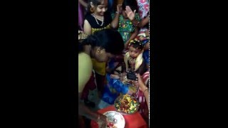 sathviksrivas first bhogi pallu celebrations 2016
