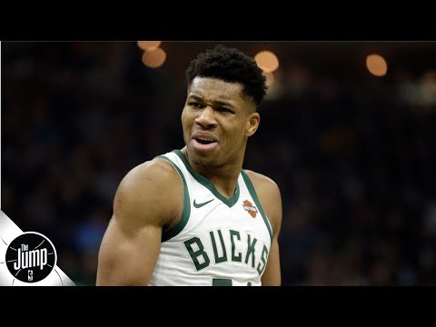 Greek Freak '100 percent' right to not work out with NBA elite - Tracy McGrady | The Jump