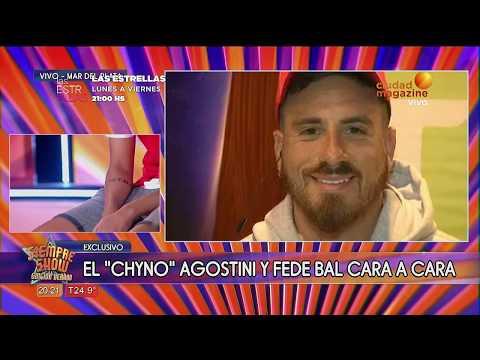 Chyno Agostini y Fede Bal cara a cara