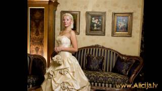 Alicija.lv  Kāzu kleitas 2010. Свадебные платья 2010. Wedding dress 2010
