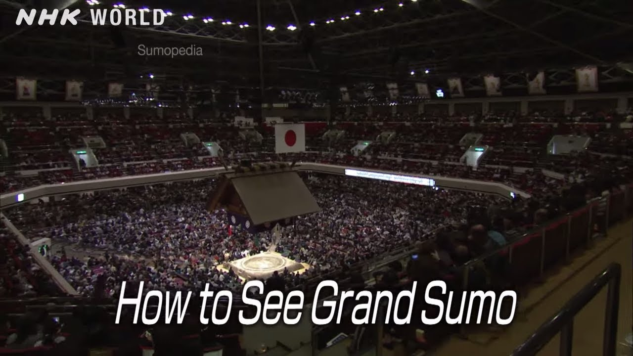 Photo of How to See GRAND SUMO [大相撲観戦] – SUMOPEDIA – video