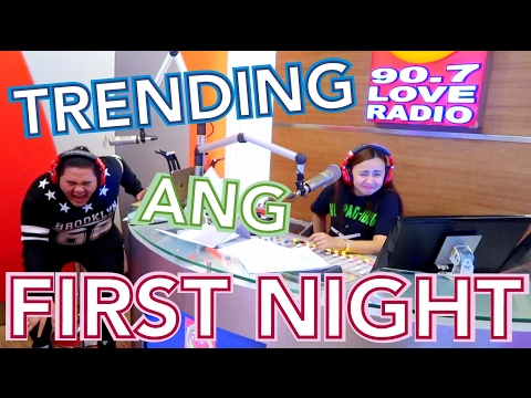 TRENDING ANG FIRST NIGHT SA 90.7 LOVE RADIO | LC VLOGS # 87