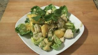 How To Create Mango And Chicken Salad