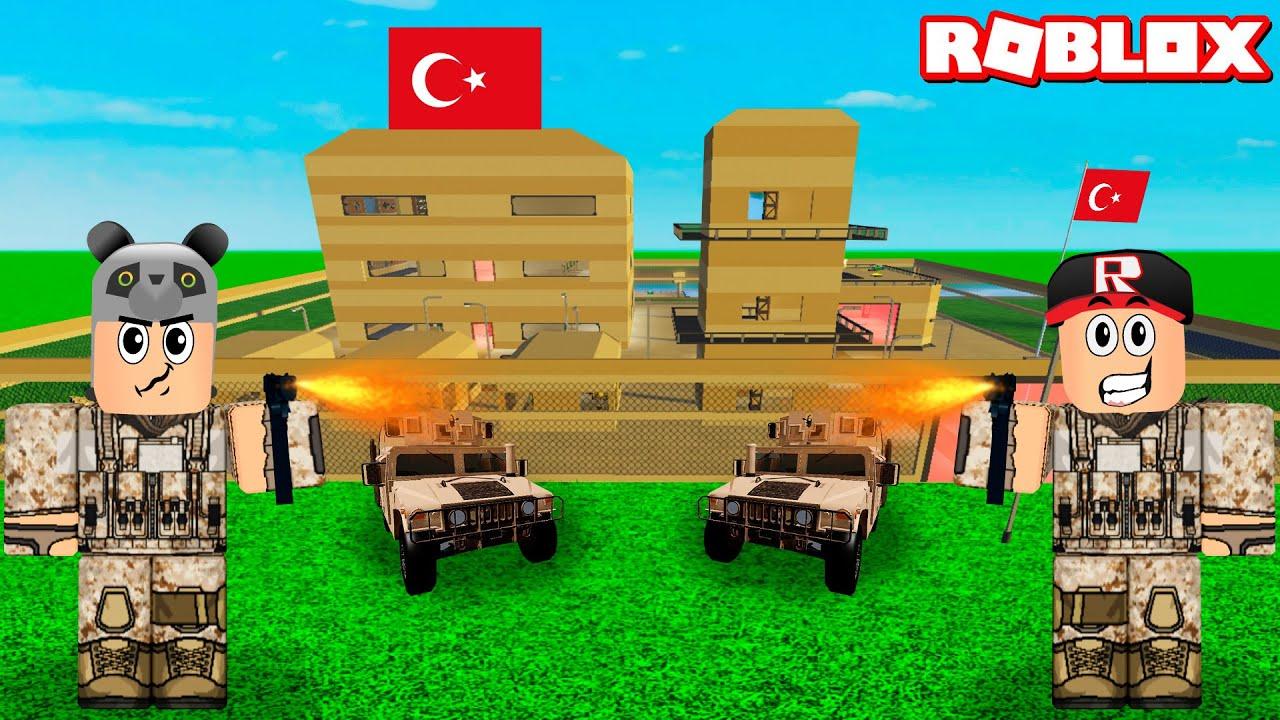 Asker Olduk ve Kendi Üssümüzü Kurduk!! - Panda ile Roblox Global Warfare Tycoon