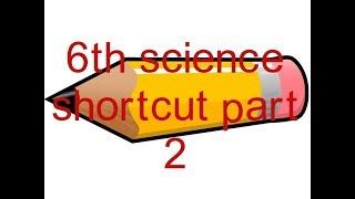 6th science shortcut  physics