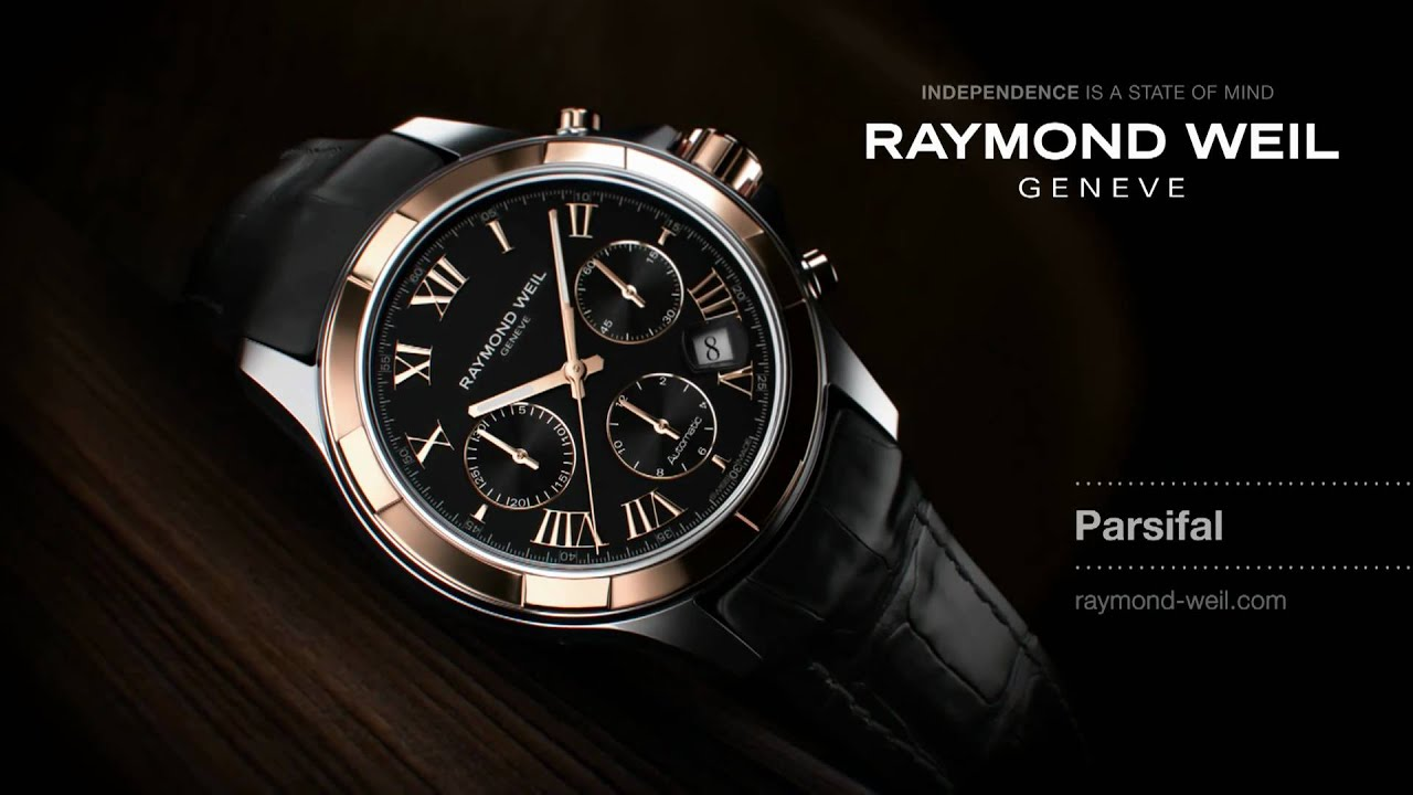 raymond weil gen232ve parsifal tv ad youtube