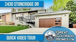 Northwest Colorado Springs Home for Sale | Colorado Springs Real Estate Agent |