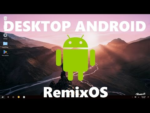 Desktop Android RemixOS