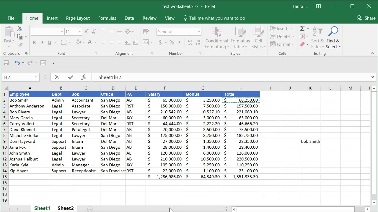 Repeat Text in Excel