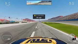 SRL|Season 8 Race 4 at Auto Club|MENCS|Nascar Heat 4|