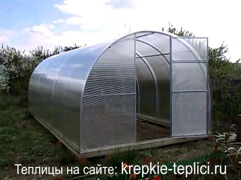 Крепкие теплицы в Серпухове