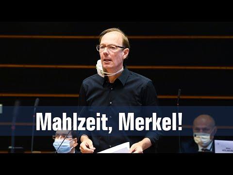 Mahlzeit, Frau Merkel!