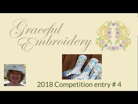 Graceful Embroidery 2018 competition entry 4