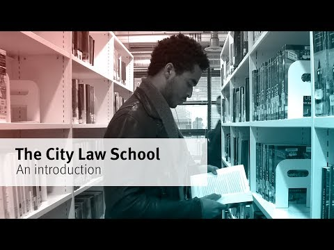 The City Law School  - Your future in law