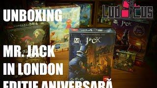 Unboxing Mr. Jack ediție aniversară