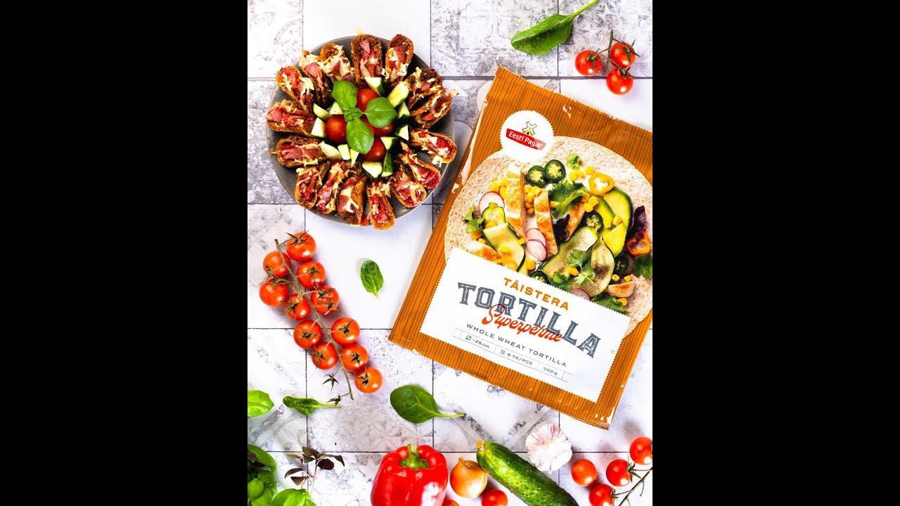 Eesti Pagar Tortilla mini Tacod