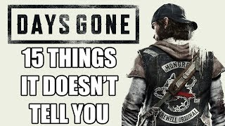 15 Beginners Tips And Tricks Days Gone Doesn