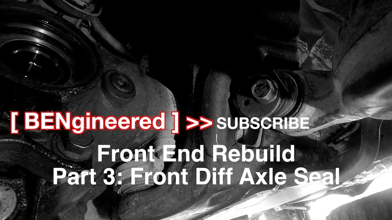 Playdoh: Toyota Prado 120 Front End Rebuild, Part 3: Diff CV Seal & Final  Touches