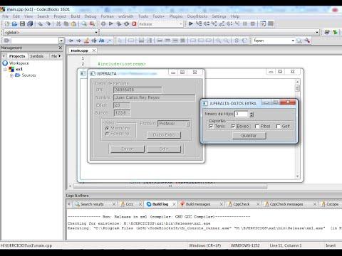 Diseño de interfaces gráficas con gtkmm y Code::blocks  Lección 1