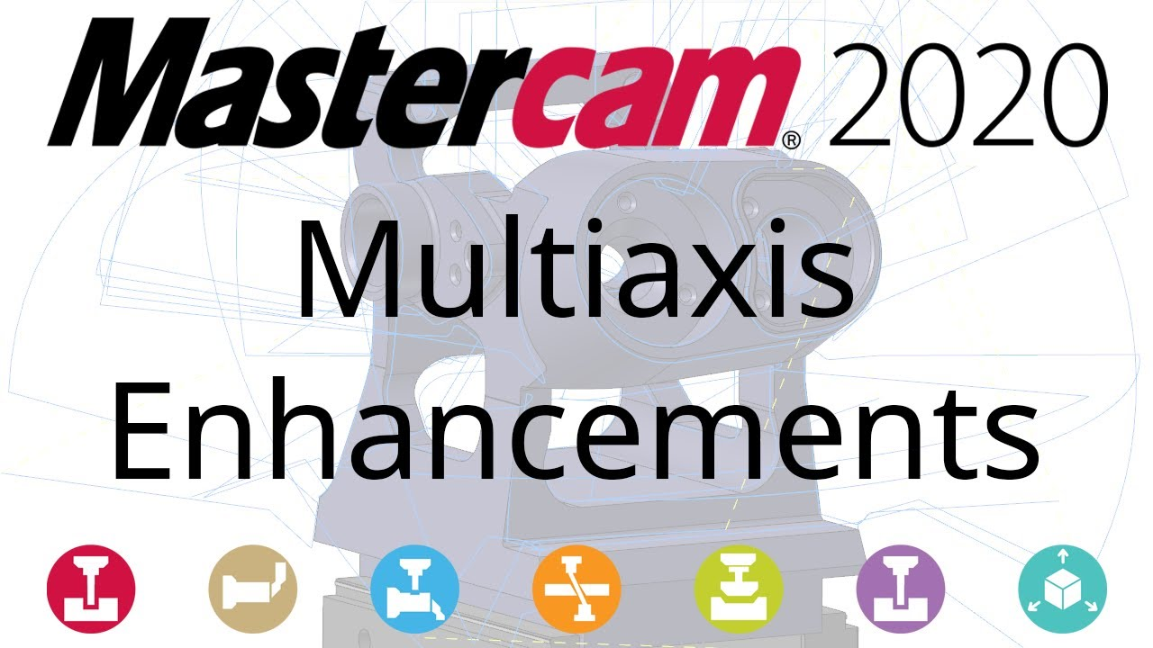 Adam Savage Tour 2020 What's New in Mastercam 2020: Multiaxis Mill   YouTube