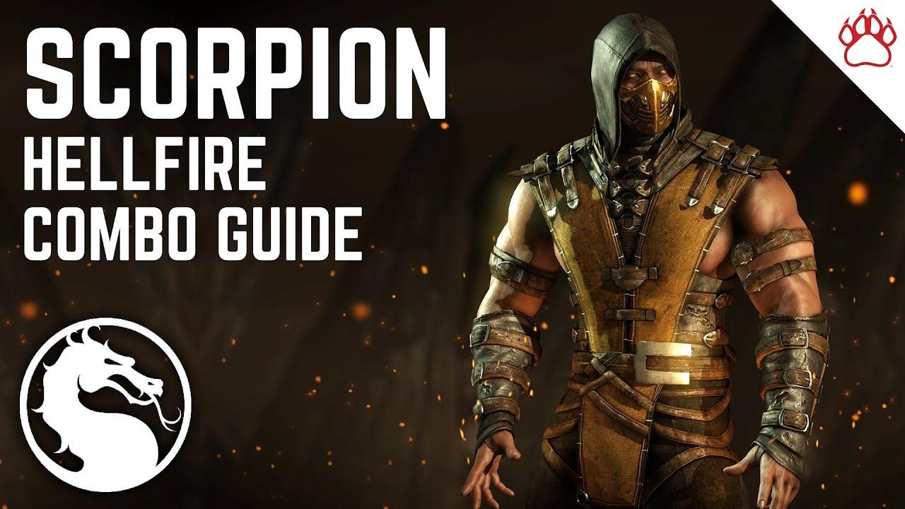 Mortal Kombat X Scorpion Hellfire Complete Combo Guide 15 50