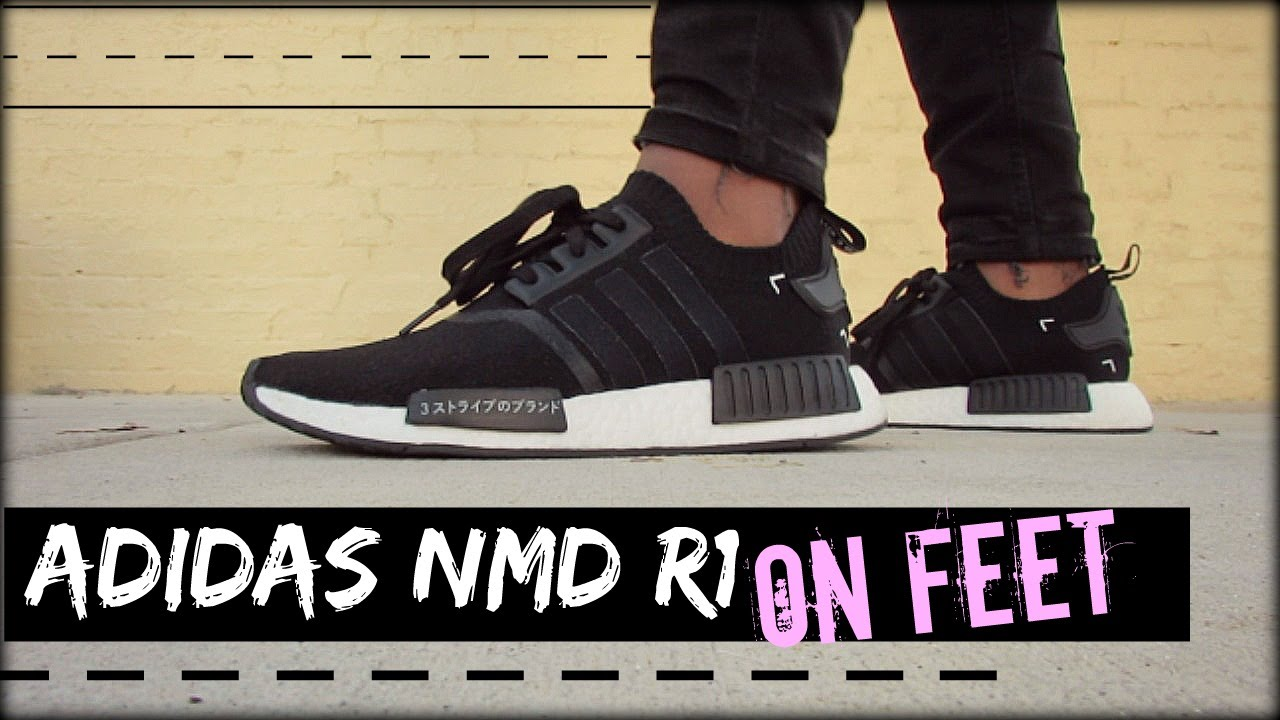 Adidas Nmd R1 Japan On Feet Youtube