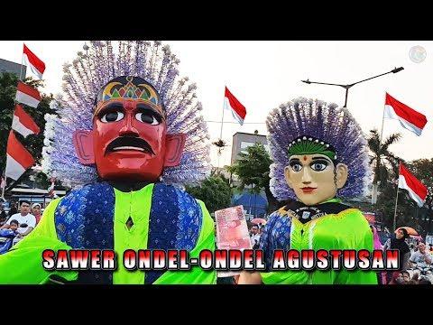 Sawer Ondel Ondel 17 Agustusan, Enak Betul Jogetnya !!