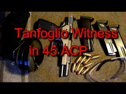 EAA Tanfoglio Witness 45 ACP