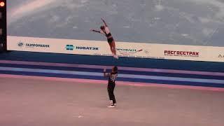 �������� ���� SAMOYLOV Konstantin   GUSAROVA Anastasia Final acro ������