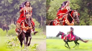 Monalisa's horse riding create Very beautiful moments with their lovely horse Kalia