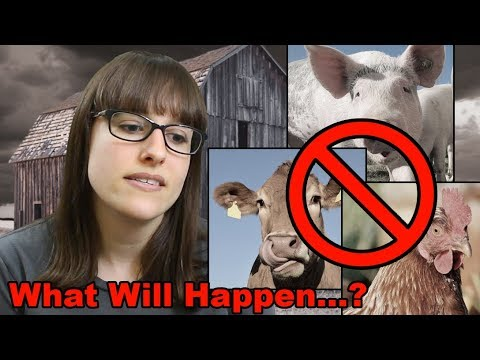 What will happen to farmed animals if the world goes vegan?