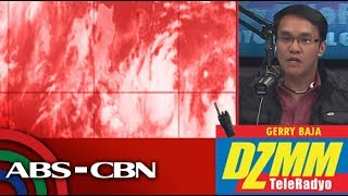 DZMM TeleRadyo: Heavy rains across PH as 'Domeng' keeps strength