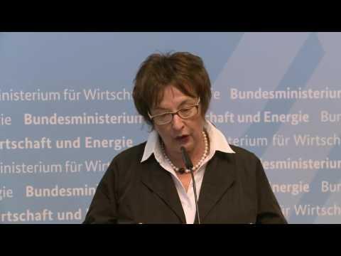 Neue deutsche  Bundesministerin für Wirtschaft und Energie, Brigitte Zypries zu ihrer Amtseinführung