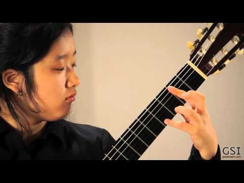 Jennifer Kim - Llobet Sor Variations (1965 Ignacio Fleta)