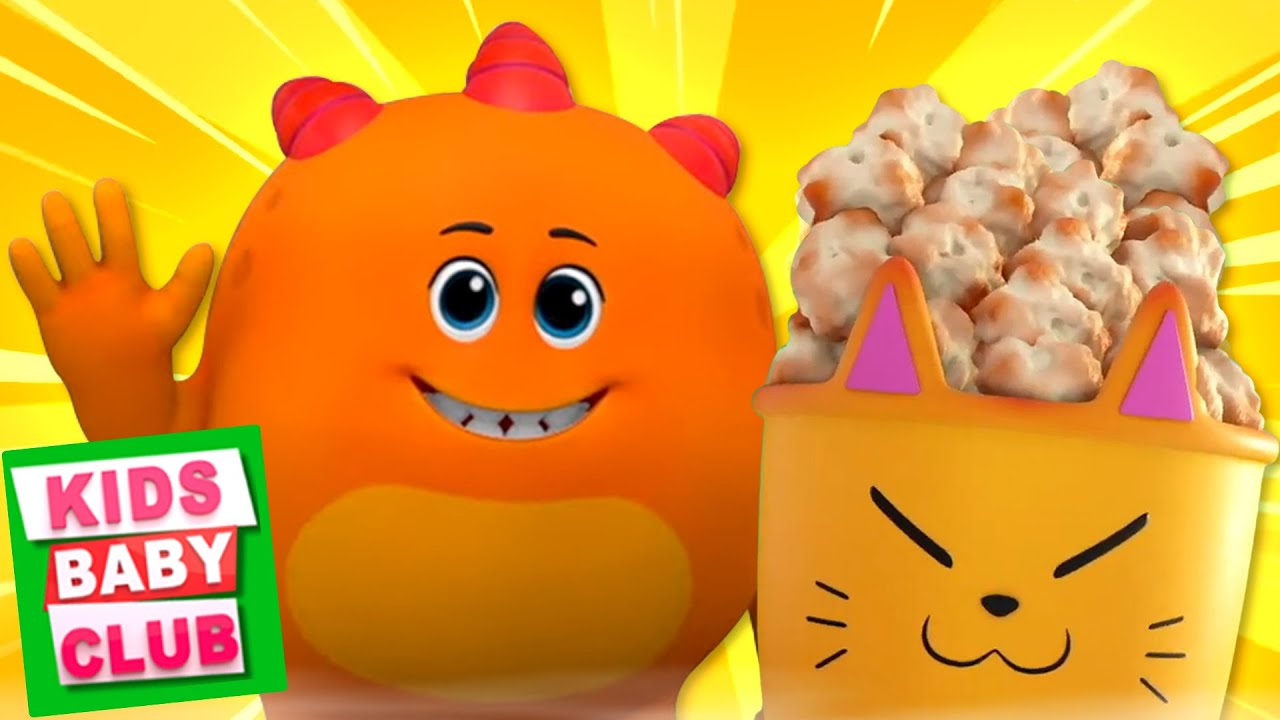 Pop Goes the Popcorn | Booya Kids | Funny Videos for Babies from Kids Baby Club