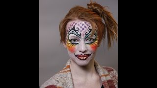 How To Create A Harlequin Face Paint Design - Facepaint.com