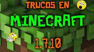 Trucos de Minecraft (1.7.10)