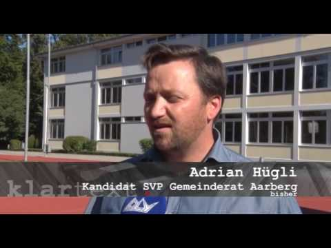 Wahlportraits Aarberg 2016   Portrait Adrian Hügli