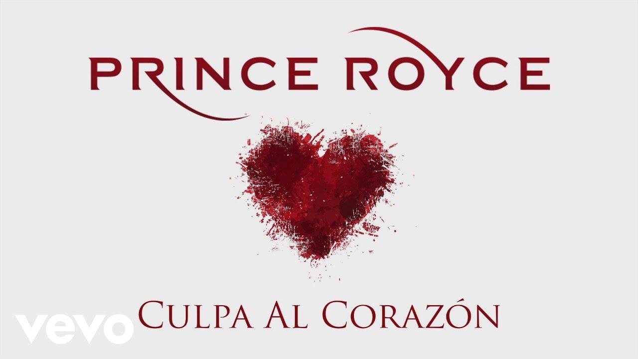 Prince Royce Culpa Al Corazón Cover Audio Youtube