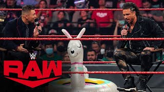 """Damian Priest exposes the truth about The Miz's injury during """"Moist TV"""": Raw, Aug. 16, 2021"""