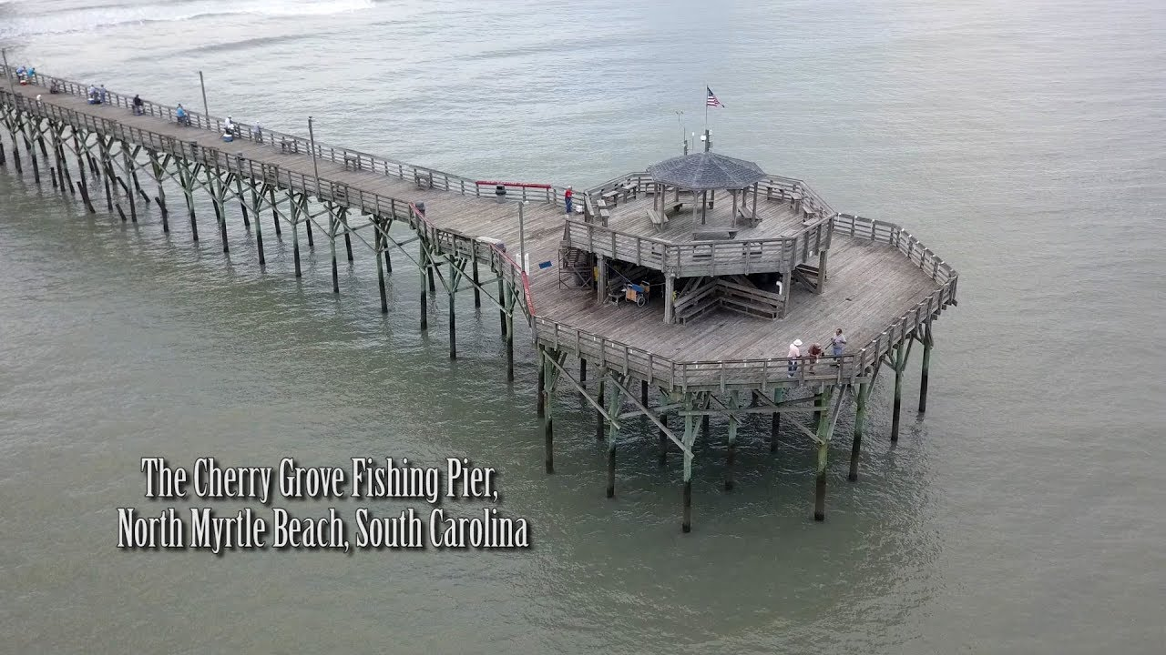 Cherry grove fishing pier youtube for Myrtle beach pier fishing report