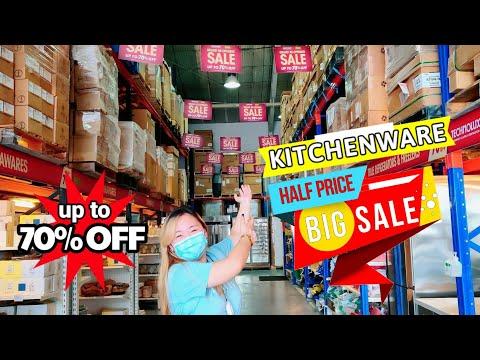 MALL OF KITCHENS WAREHOUSE SALE! Bagsakan ng Imported Kitchenware sa Pilipinas