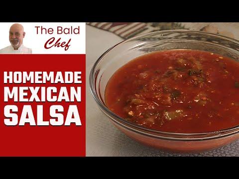 Recipe For Homemade Mexican Salsa