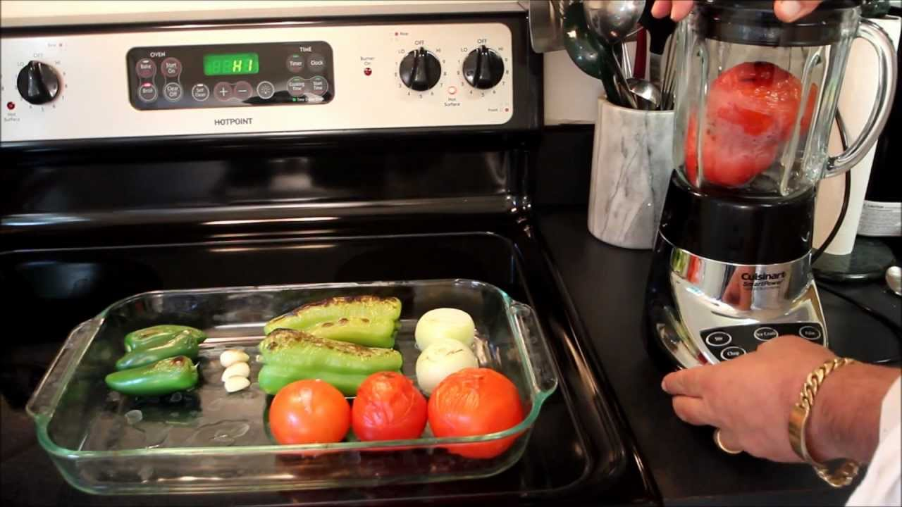 Recipe For Homemade Mexican Salsa Youtube