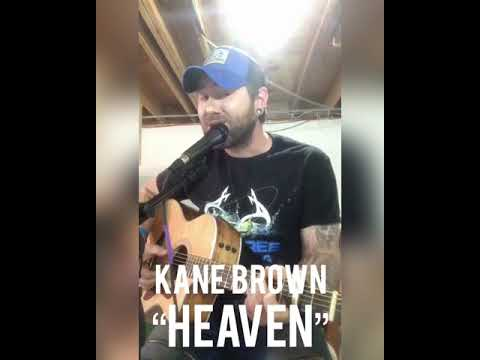 """""""Heaven"""" (Acoustic) - Kane Brown - Myles Nelson Cover - 2018."""
