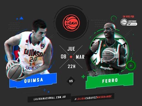 Liga Nacional: Quimsa vs. Ferro | #LaLigaEnTyCSports
