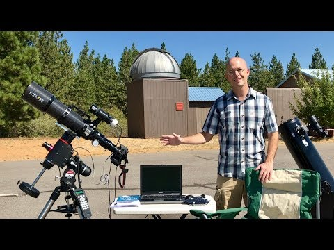 Imaging Deep Sky Objects with a Full Astrophotography Setup